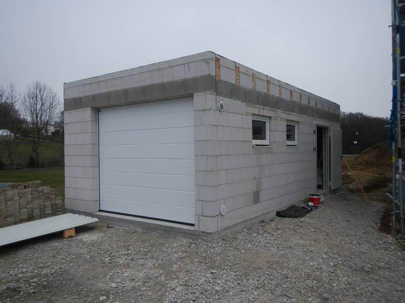Установка ворот гаража