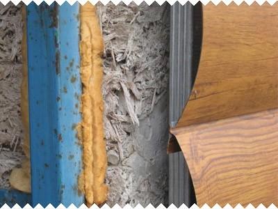 Отделка фасада из арболитовых блоков