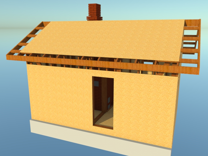 Как зашить крышу ОСП(OSB) плитой