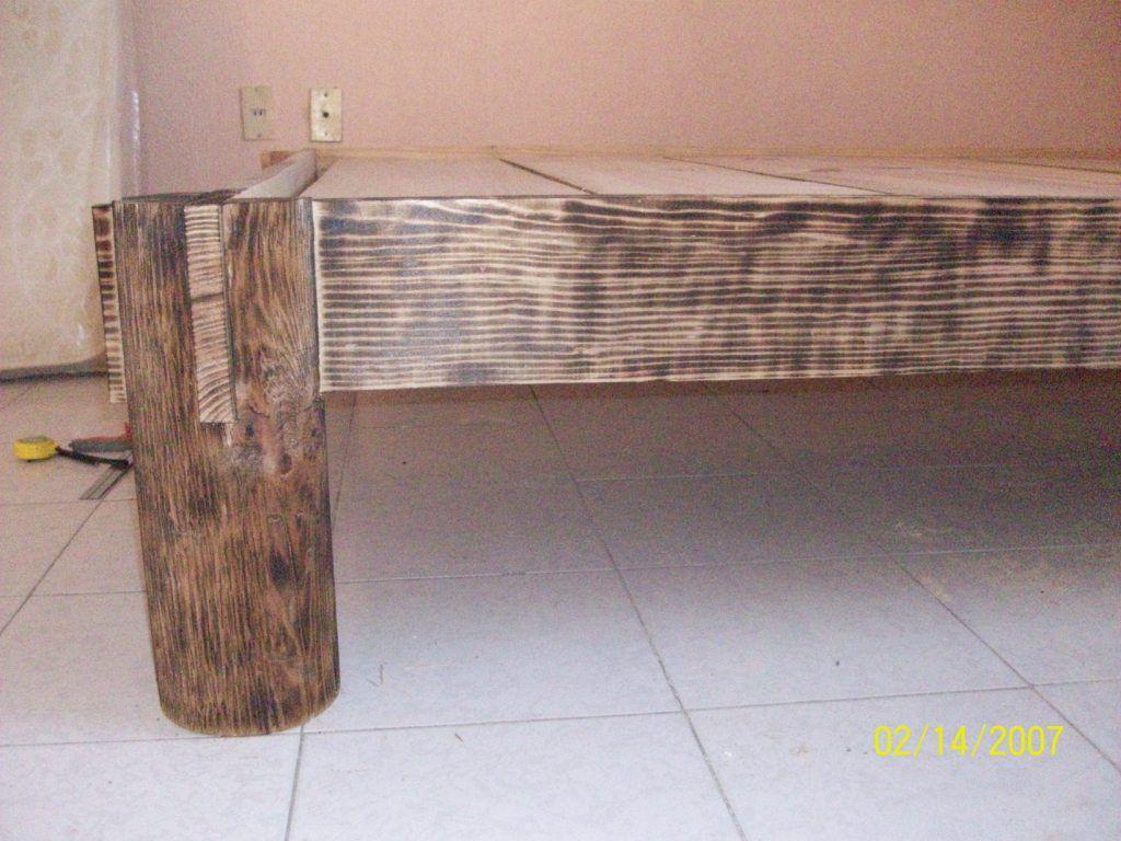 кровать после обжига