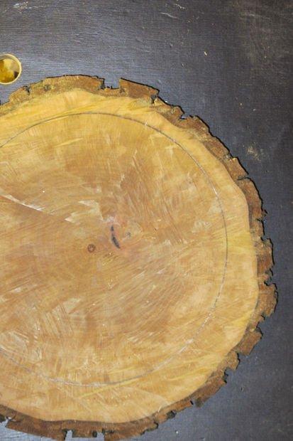 Часы из дерева