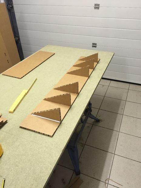 приклеенные треугольники