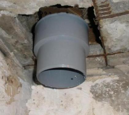 замена канализационного стояка в туалете