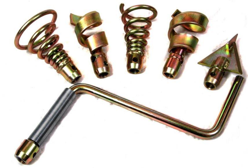 Сантехнический трос - наконечники