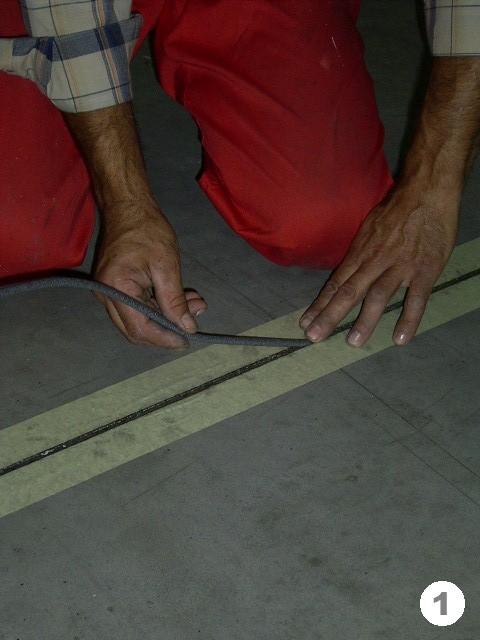 Заделка швов в бетонных полах