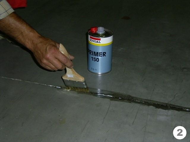 Заделка швов в бетонных полах своими руками