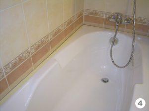 Подготовка поверхности ванны