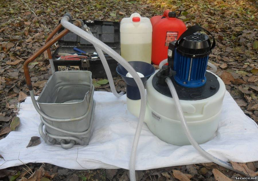 Чистка газового котла