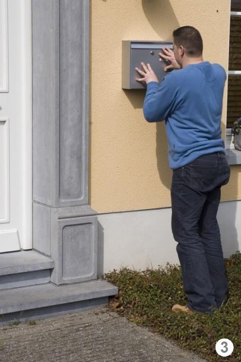установка почтового ящика