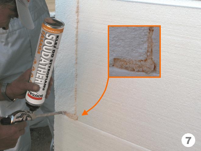 как утеплить стену дома пенопластом