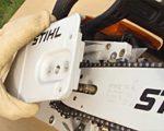 Боковое устройство натяжения цепи stihl фото пилы