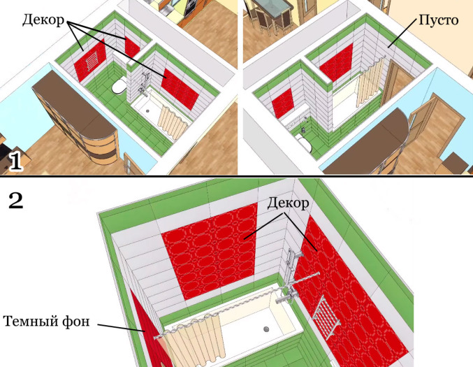 варианты раскладки плитки на полу кухни