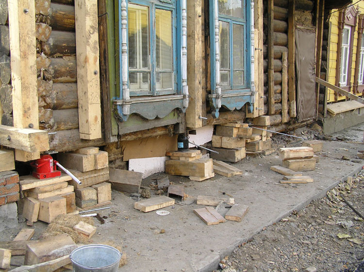Ремонт старых деревянных домов инструкция