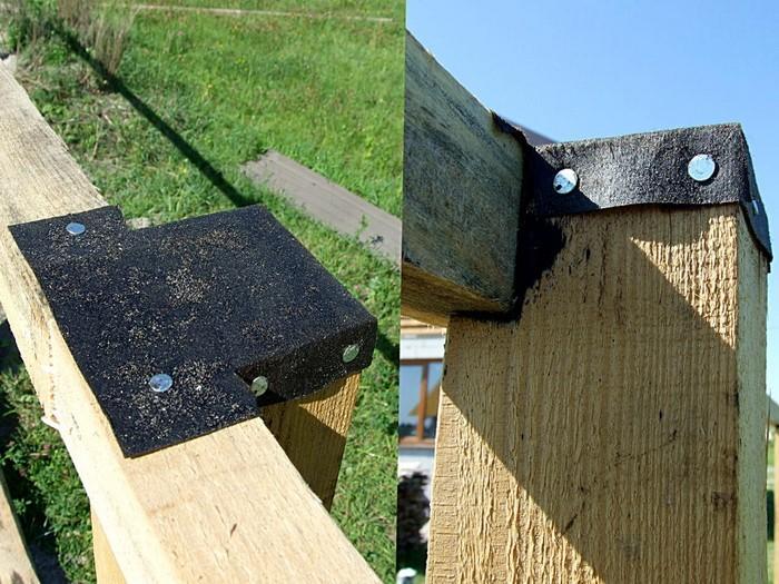 забор из необрезной доски фото