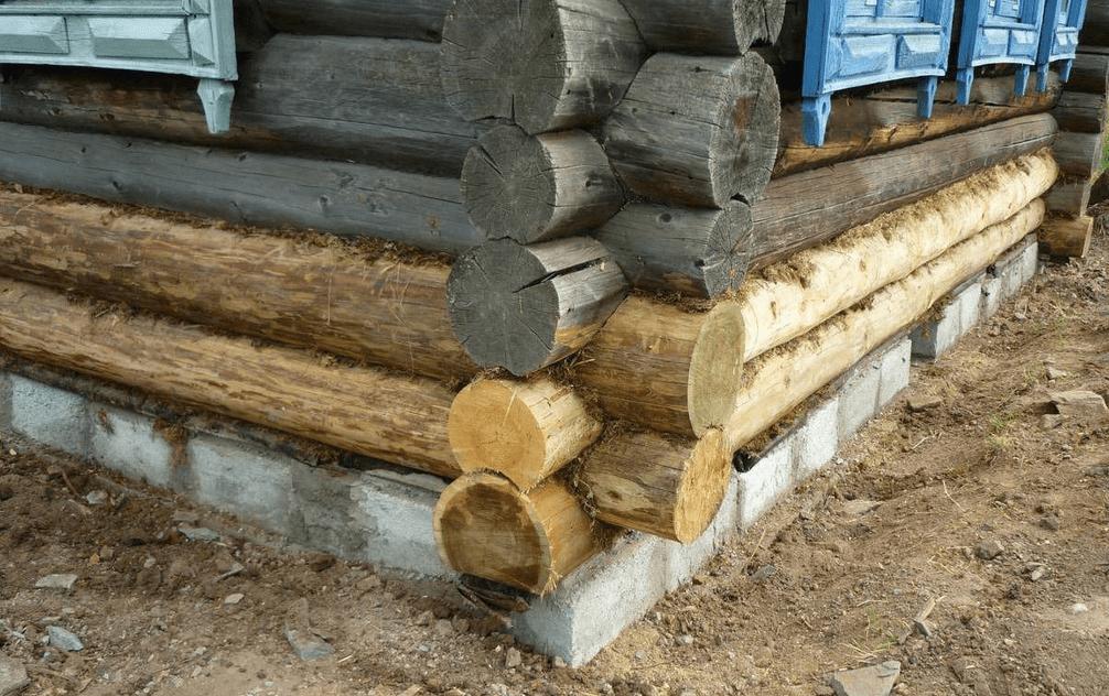 Ремонт старых деревянных домов венцы