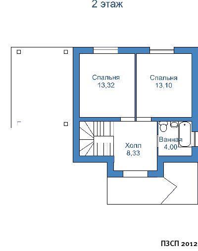 Планировка Проект дома из ячеистого бетона