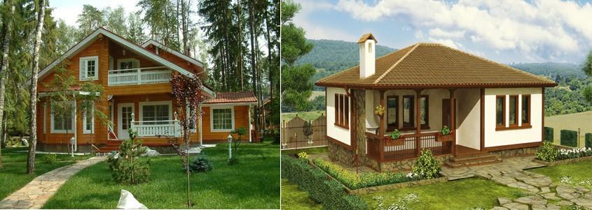 Два дома