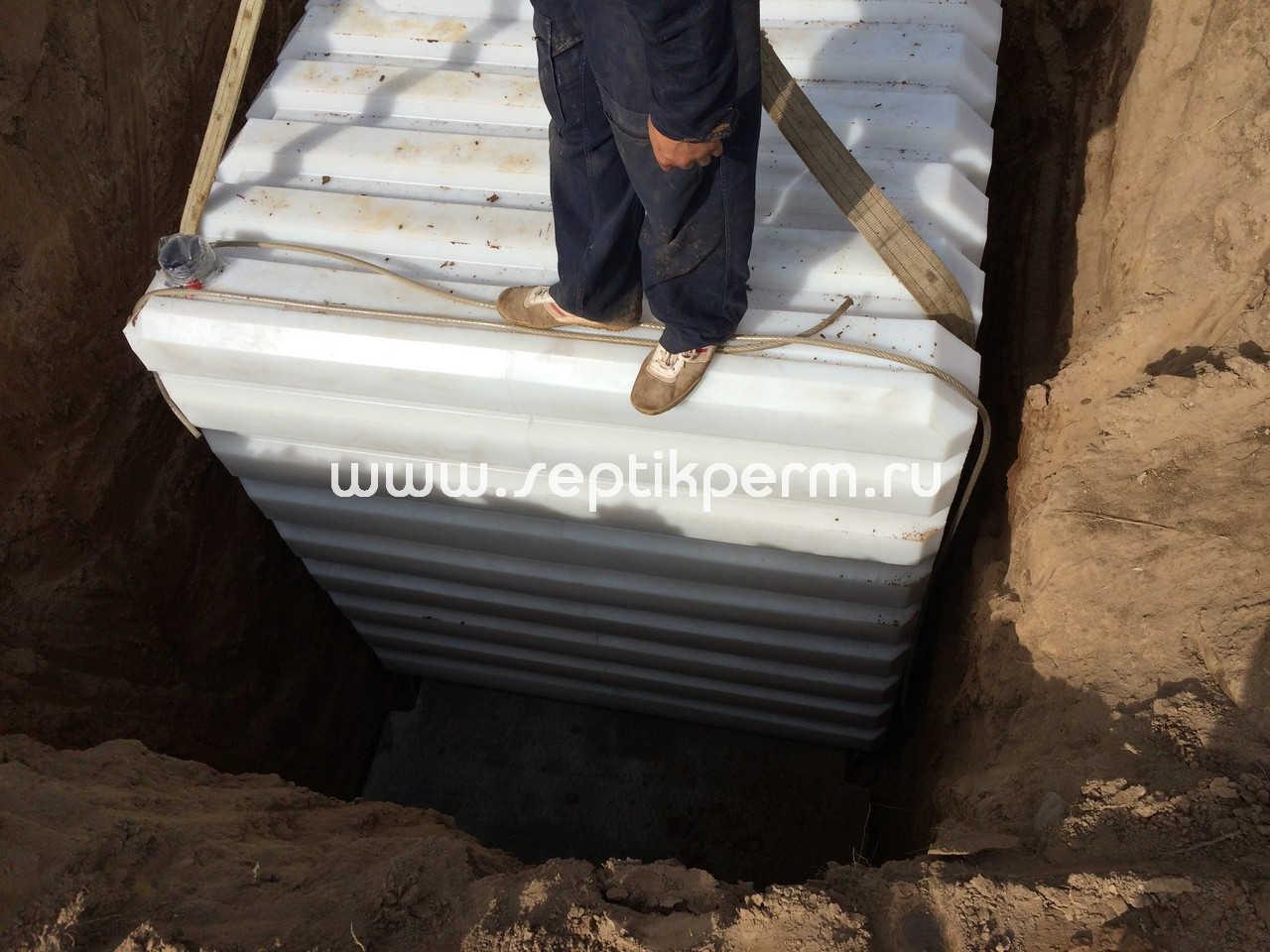 Проверка погреба по уровню