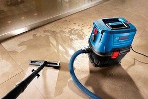 Строительный пылесос для сухой и влажной уборки