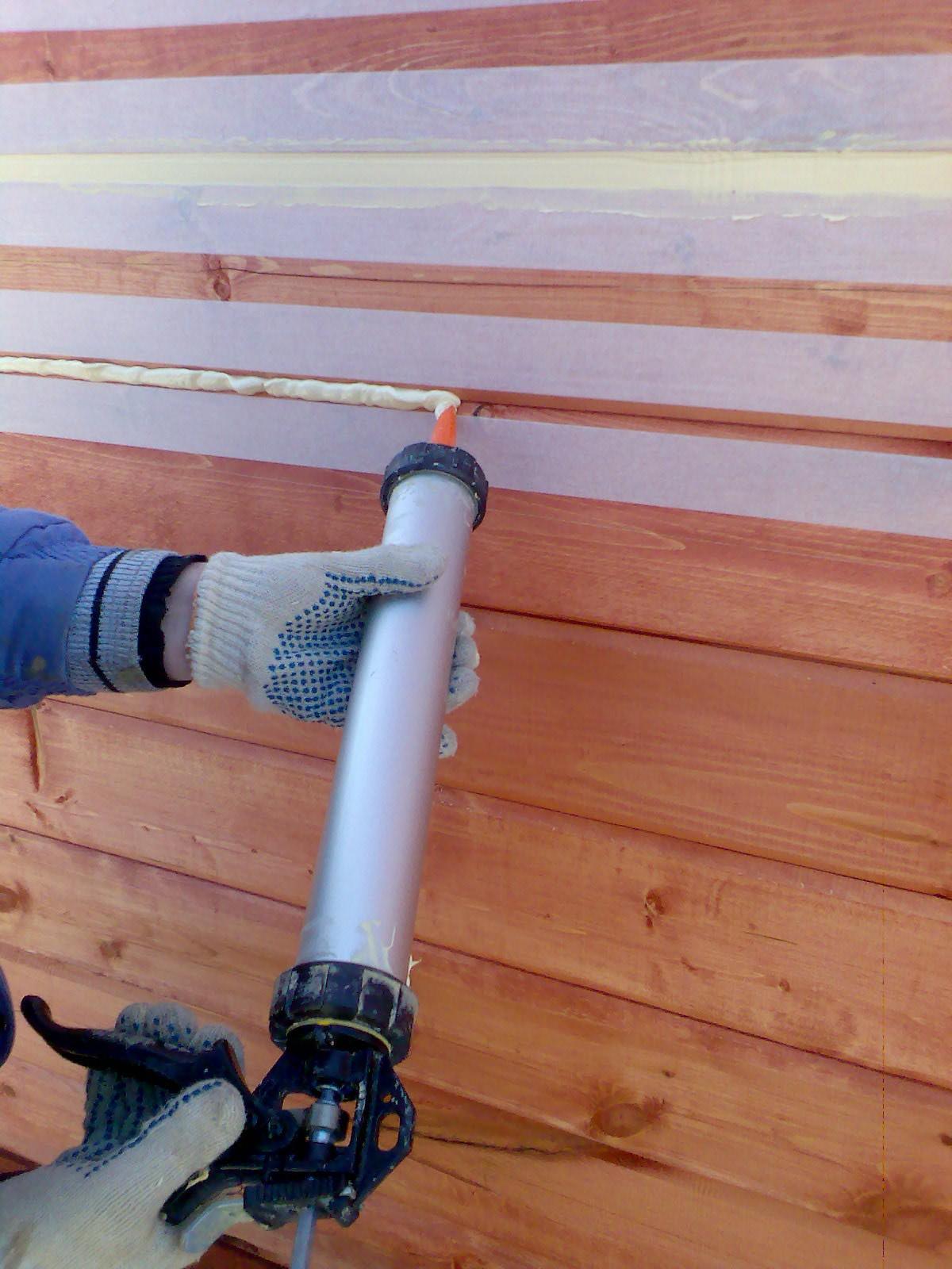Швы в деревянном доме