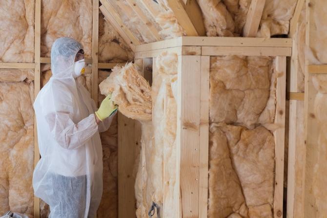 Защита при работе с минватой