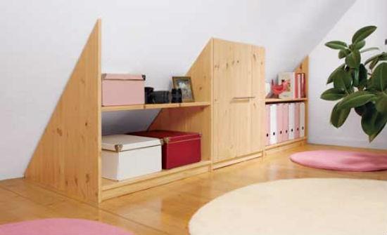 Мансардная мебель