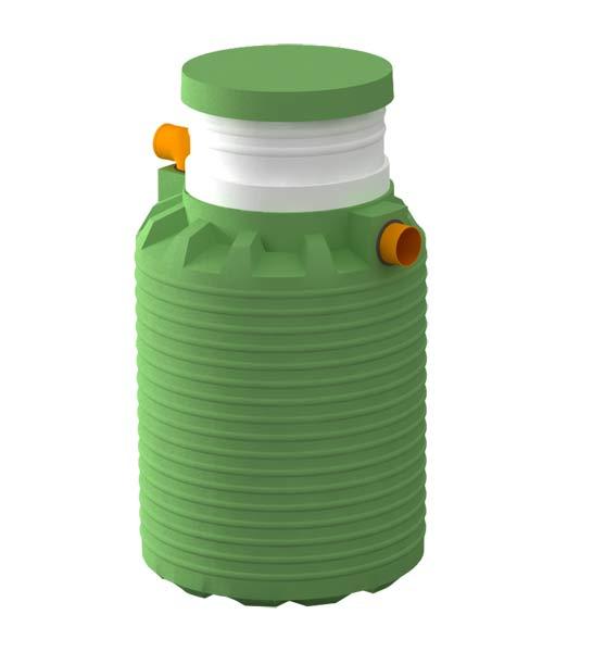 Септик Микроб — сооружение для очистки небольшого количества бытовых сточных вод
