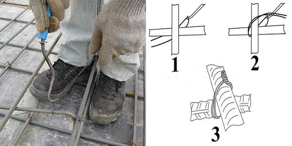 Крюк для вязки арматуры и порядок работы с ним