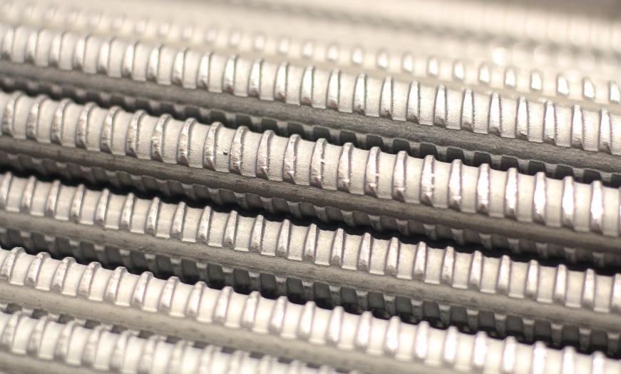 Кольцевидное рифление строительной арматуры