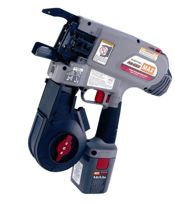 Так выглядит пистолет для вязки арматуры