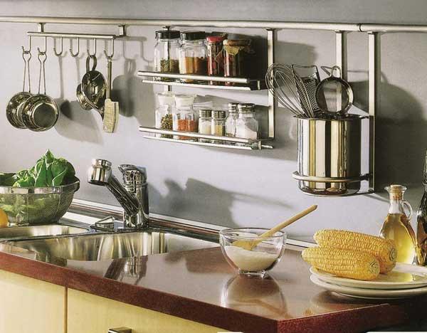 Рейлинги на кухне
