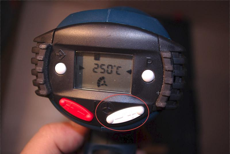 Термопистолет с регулировкой