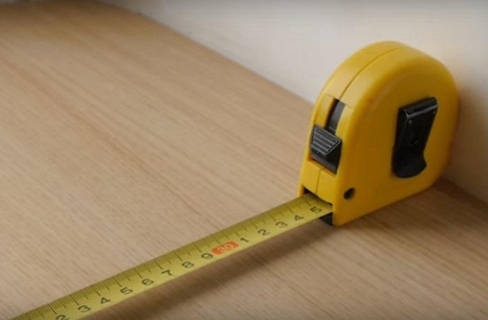 Как используется строительная рулетка
