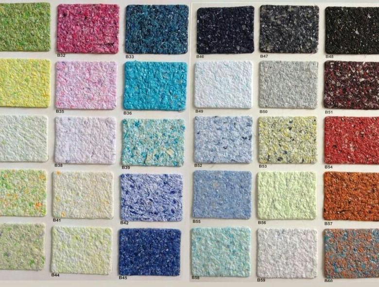 Цветовая палитра обоев чрезвычайно широка