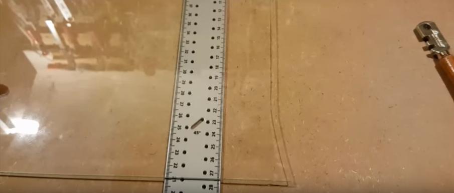 подготовка к отделению разрезанных элементов