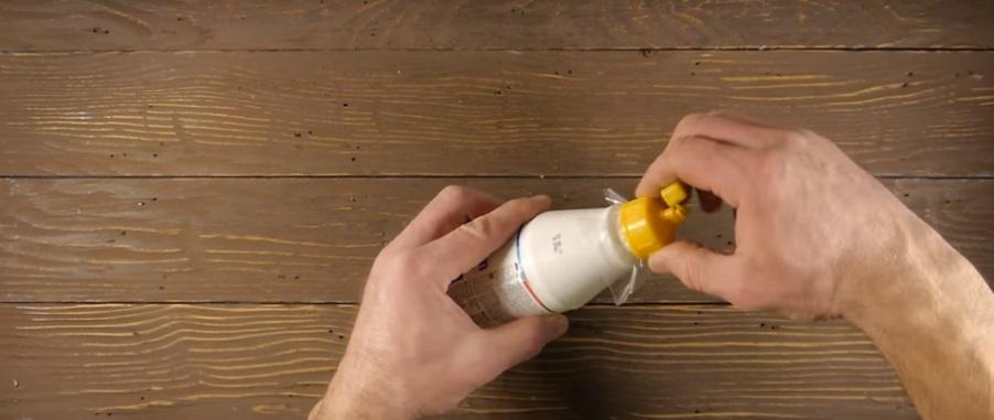 лайфхак для бутылочки с клеем