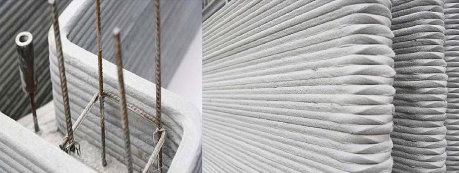 послойность укладки бетона
