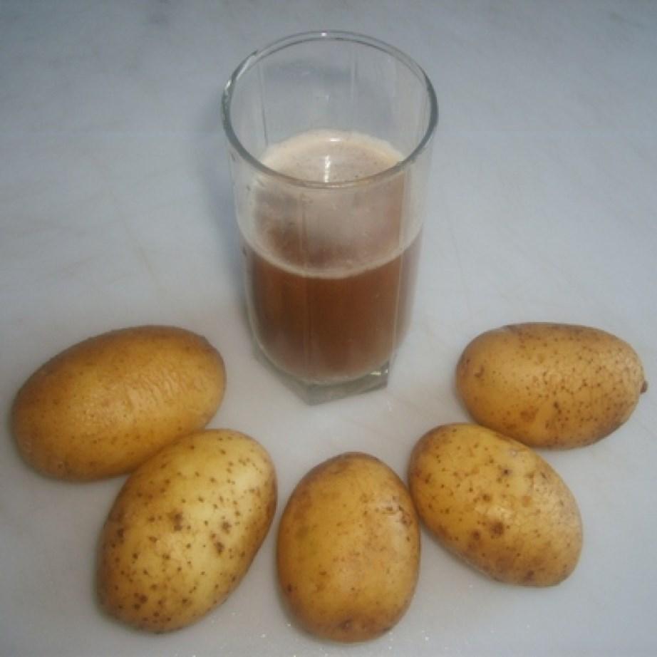 Картофельный сок понадобится и дачникам