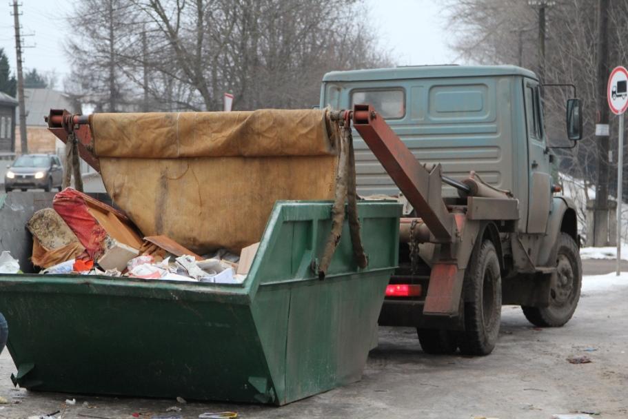 Спецконтейнер для строительного мусора