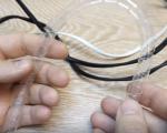 Пластиковая спиральная пружина для оплетки кабелей