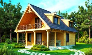 Дачный домим