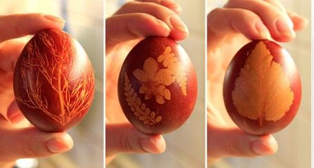пасхальные яйца декорированные