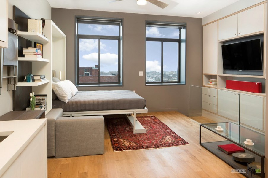 Типовая квартира с многофункциональной мебелью