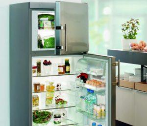 Холодильник с морозильной камерой наверху