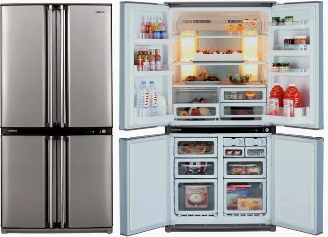Холодильник с дверцами