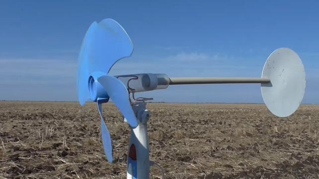 Ветрогенератор из вентилятора