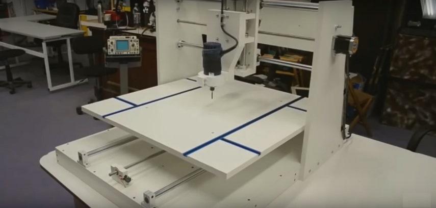 Устройство художественной резьбы CNC Router