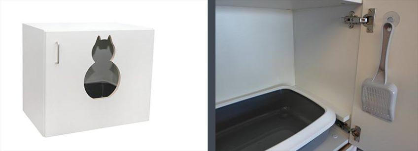 Туалетный шкафчик для кошек