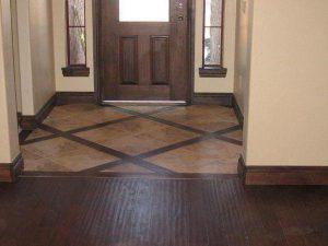 Напольное покрытие в коридор и для прихожей
