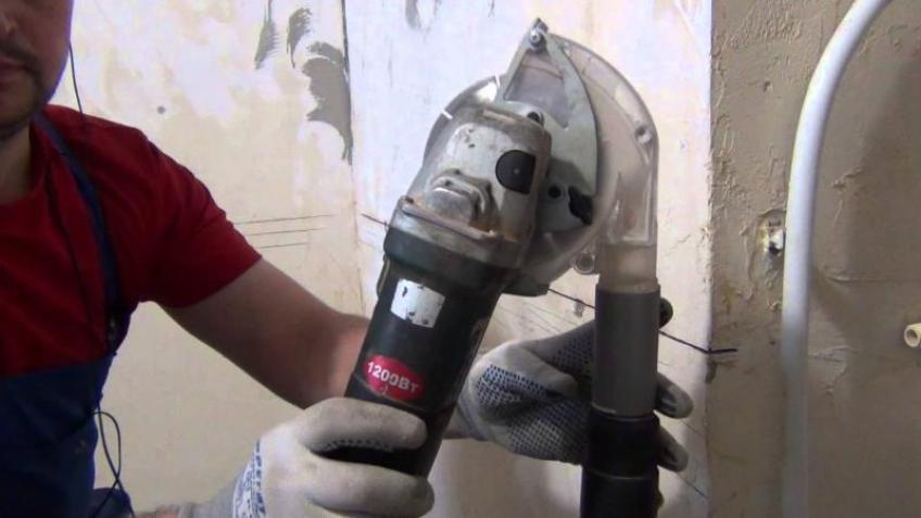 Как используется штроборез при необходимости сверления твердых поверхностей